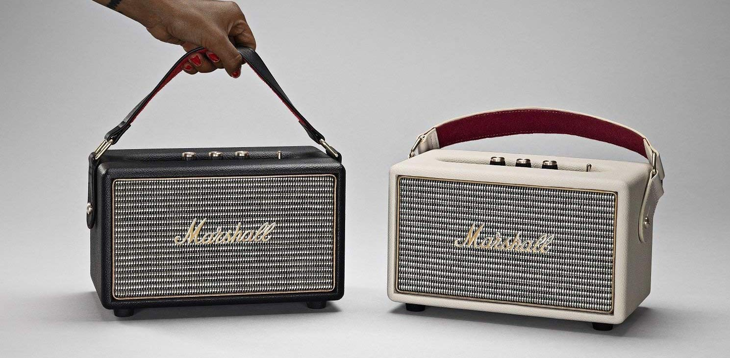 Upgrade your portable audio game w/ Marshall's Kilburn Bluetooth speaker for $140 ($40 off)