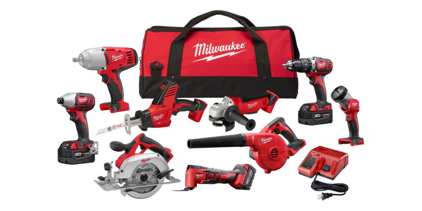 Save up to 50% off Milwaukee gear at Home Depot: 9-Tool Kit