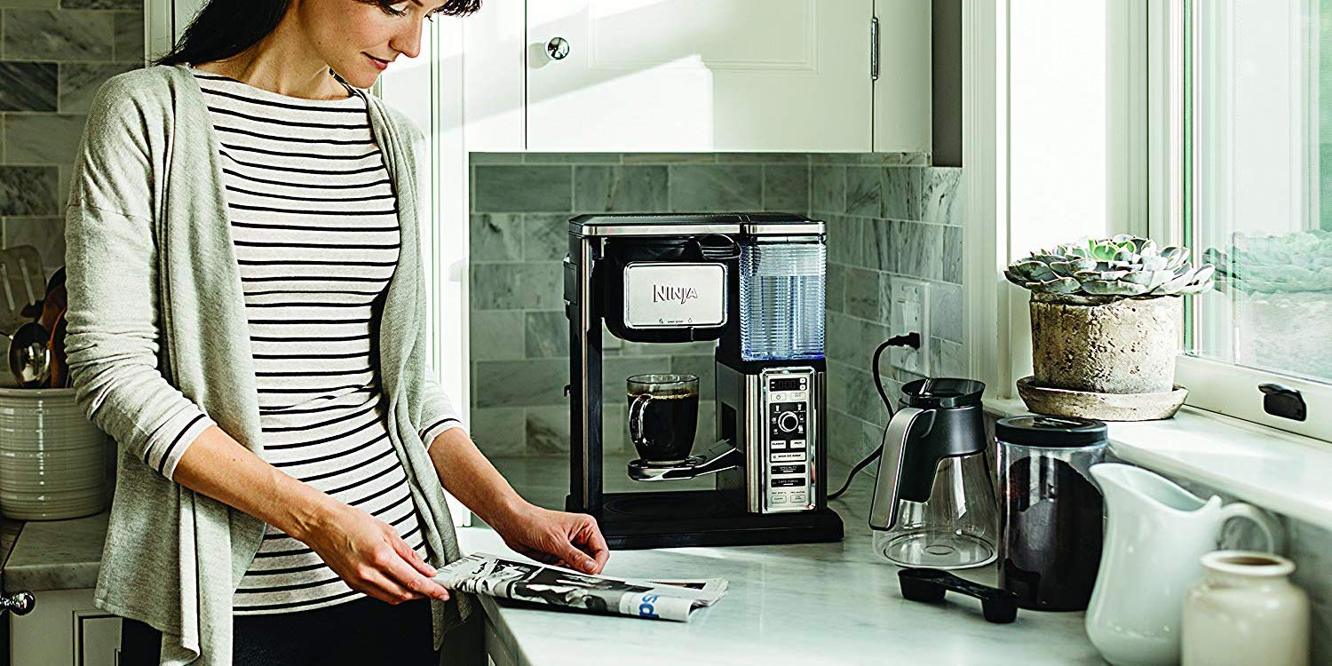 Step up to the Ninja Coffee Bar System while it's over $100 off: $75 (Refurb, Orig. $200)
