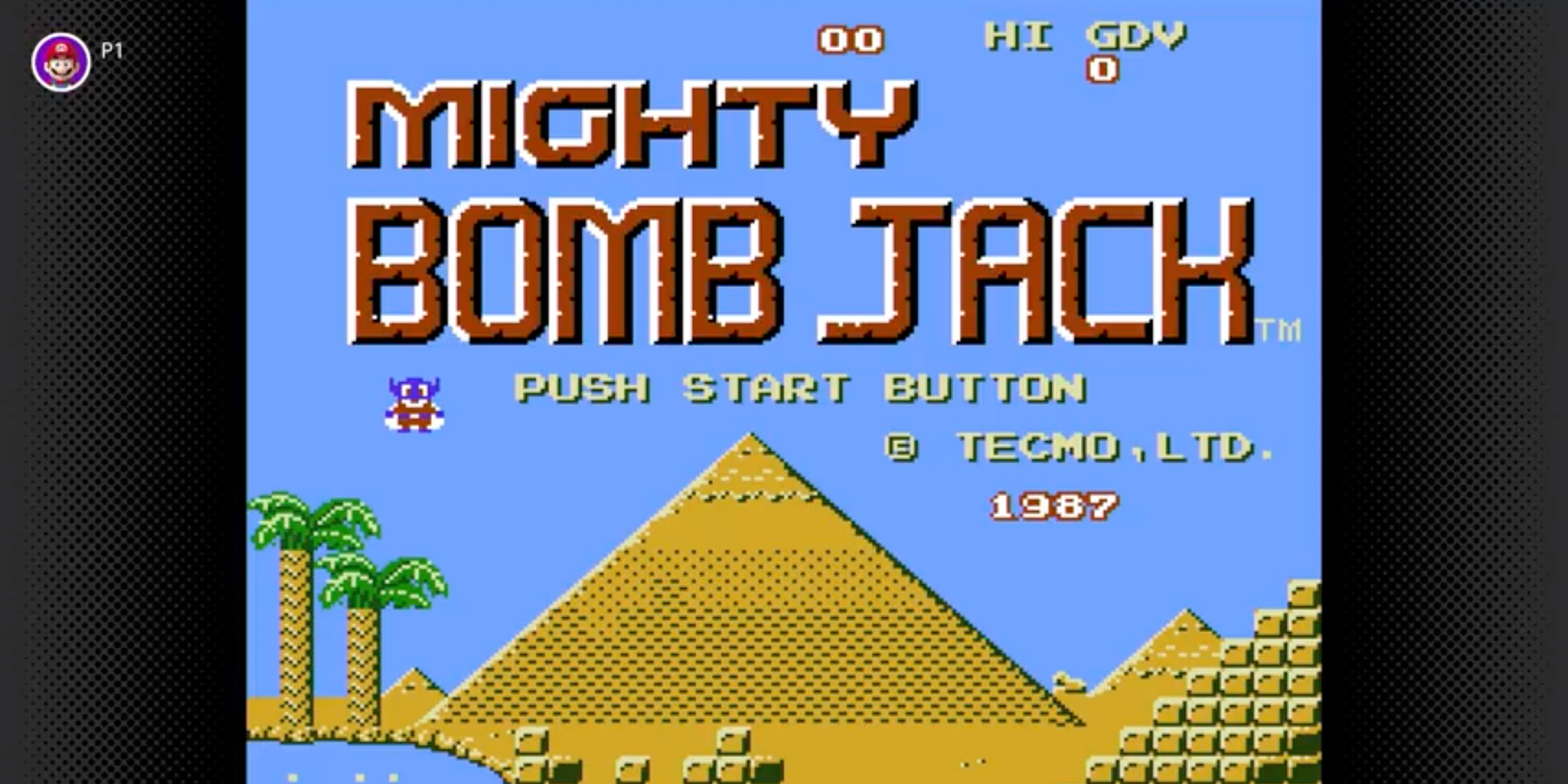 Nintendo Switch Online Mighty Bomb Jack