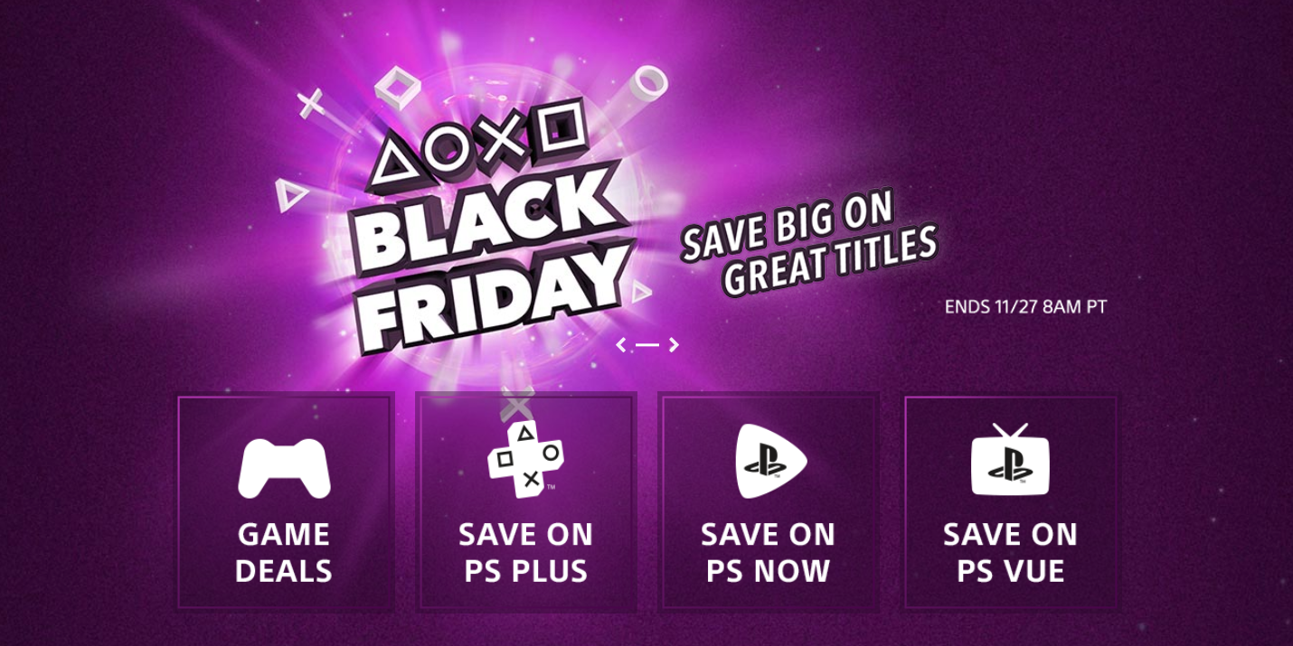 PlayStation PSN Black Friday sale now live: PS Plus 1-yr. $40, God of War $22 + more from $5