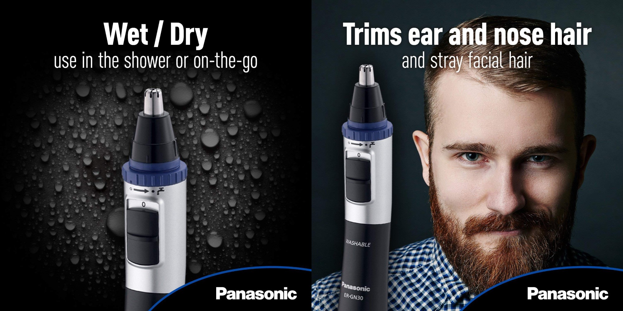 Panasonic's Nose/Ear Hair Trimmer also works on beards and eyebrows: $7 shipped (40% off)