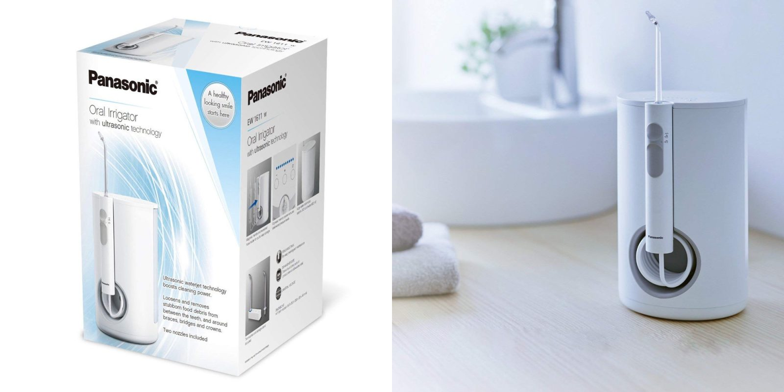 Panasonic's Water Flosser will put you on your dentist's