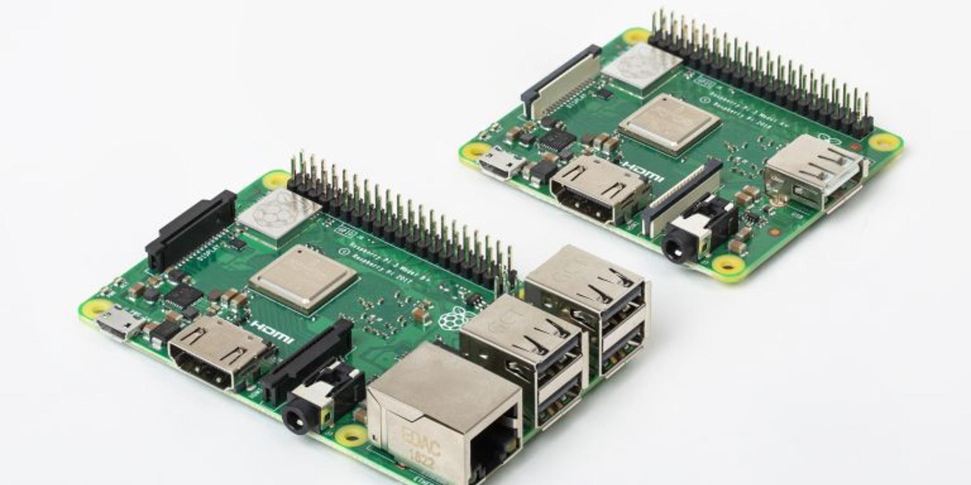 Raspberry Pi3 Model A+ Comparison