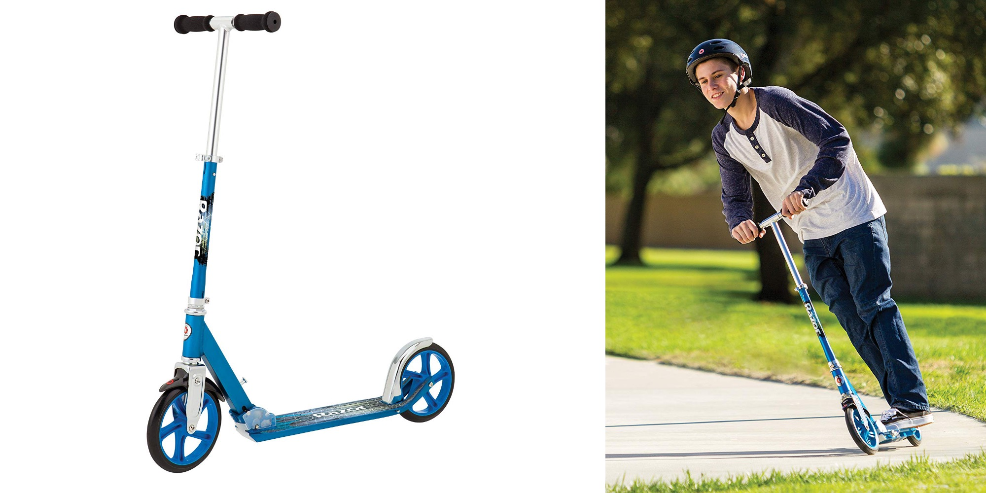 Zip around this summer on Razor's highly-rated A5 Lux Scooter for $54 (Reg. $80)