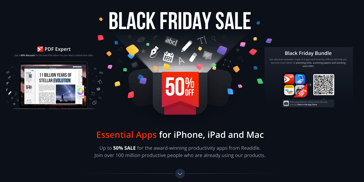 Readdle iOS/Mac apps nearly 50% off for Black Friday: PDF, Calendars