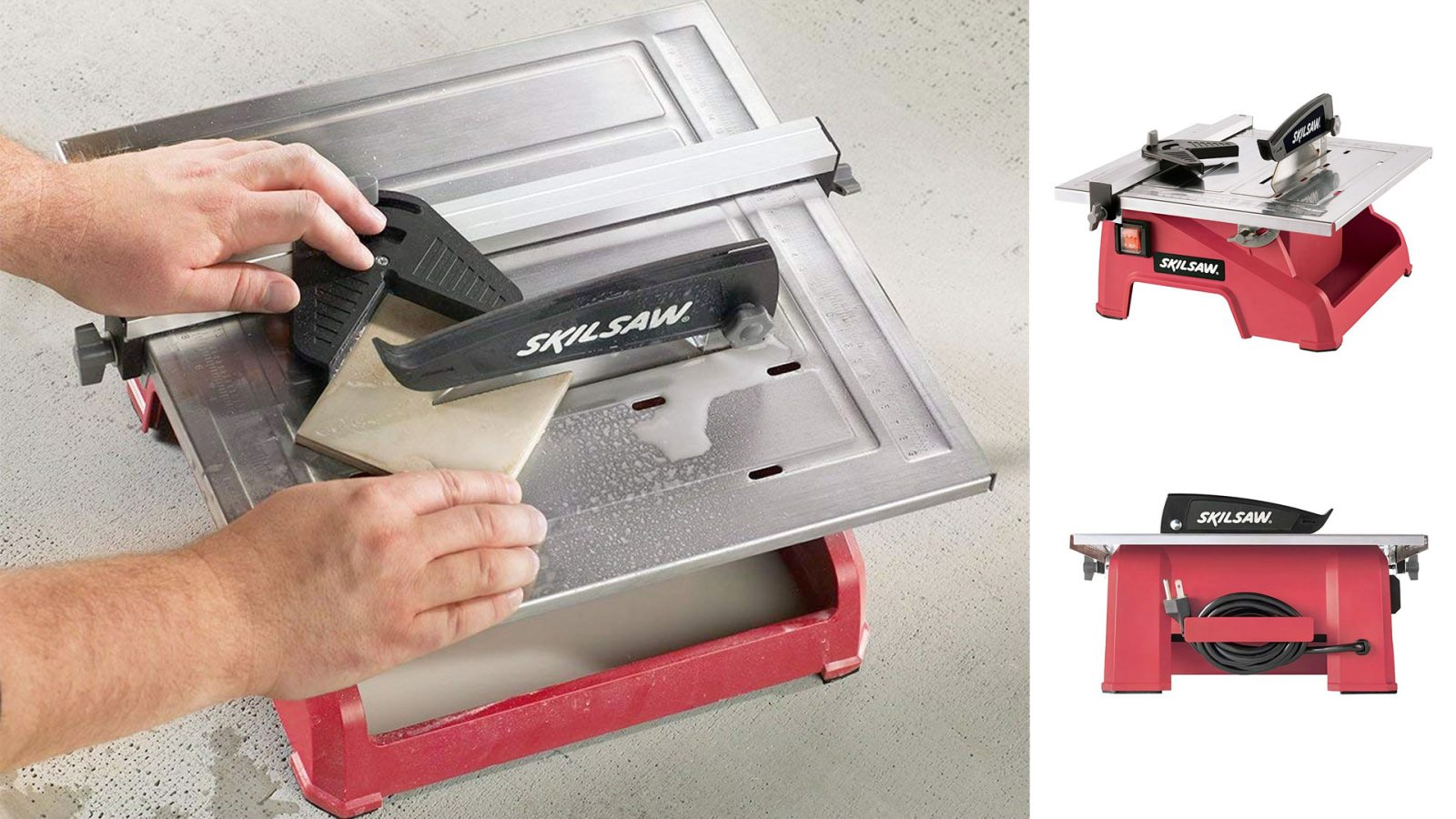 Turn Into A Tile Pro With This Skil 7 Inch Wet Saw For 70