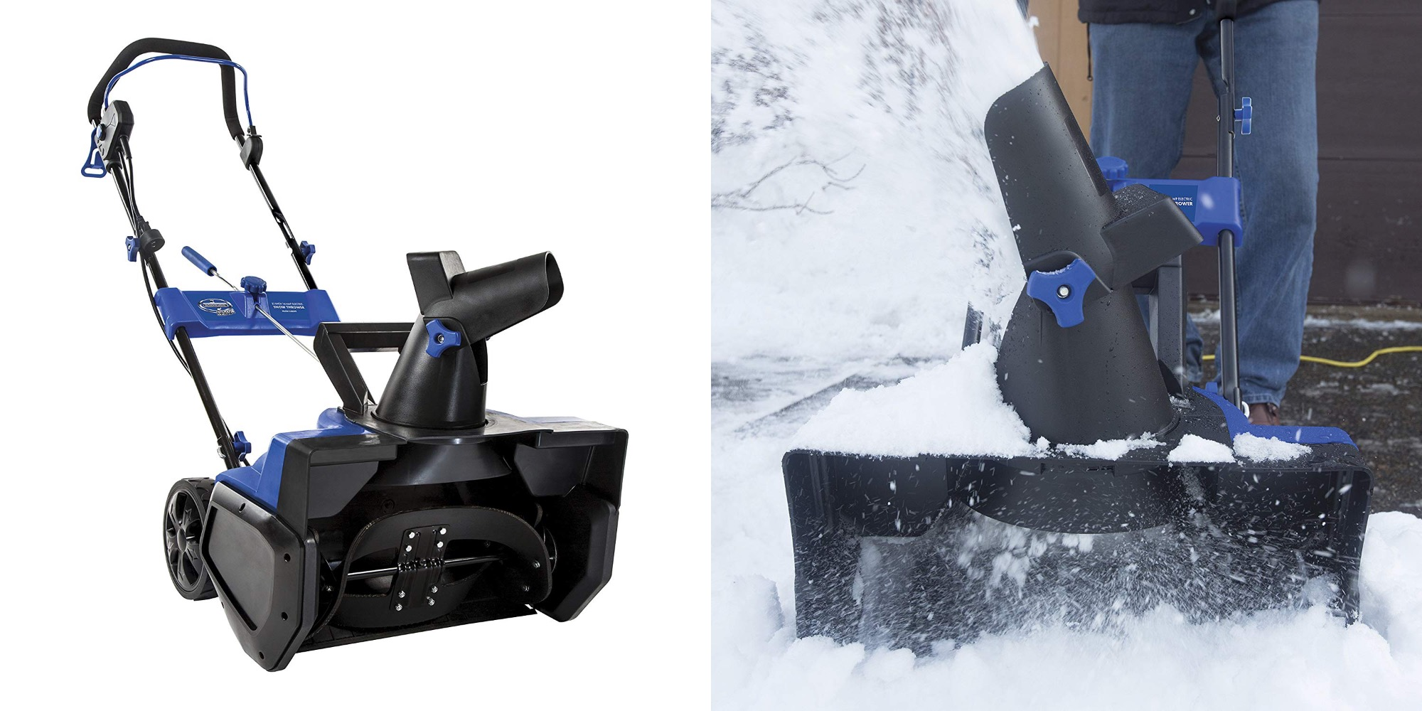 Save your back w/ Snow Joe's 21-inch Electric Snow Thrower: $100 shipped (Refurb, Orig. $270)
