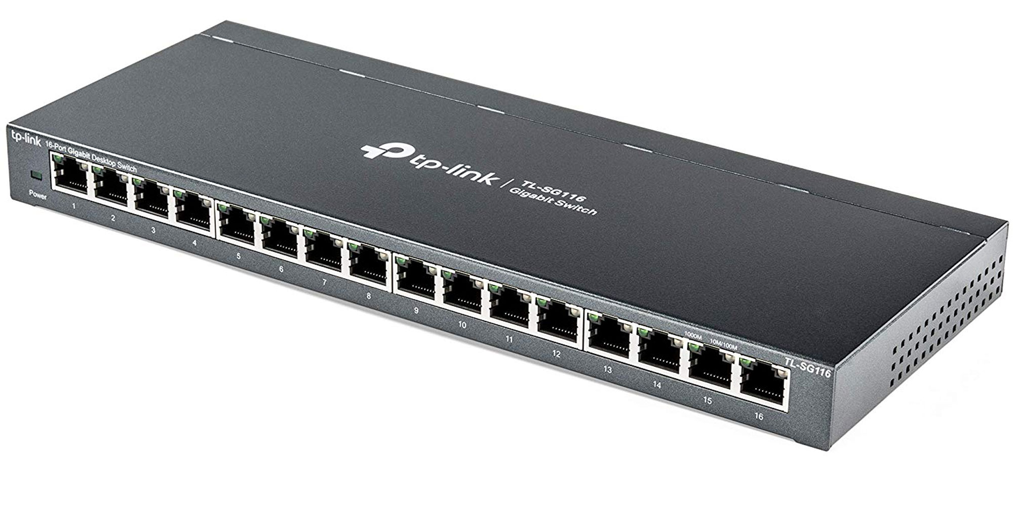 Expand your home network w/ the TP-Link 16-port Gigabit switch for $55 (Reg. $70)