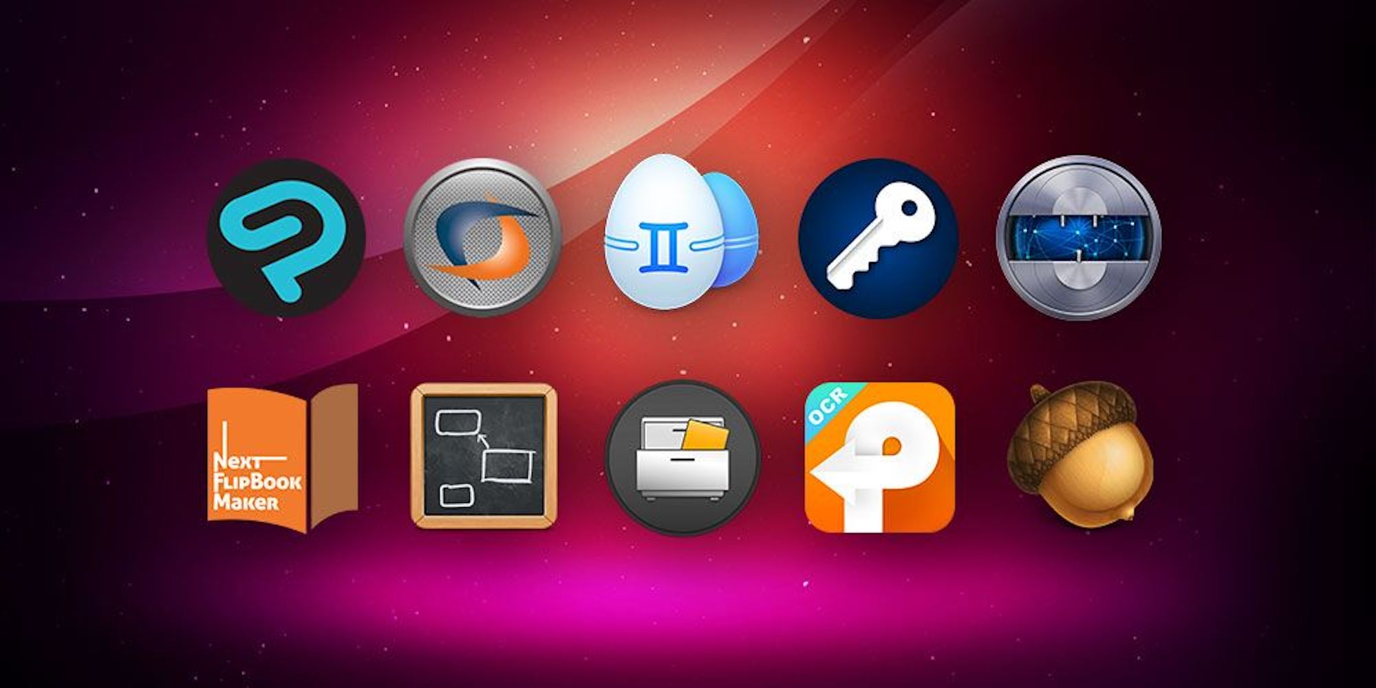 This Black Friday Mac App bundle includes 10 award-winning titles