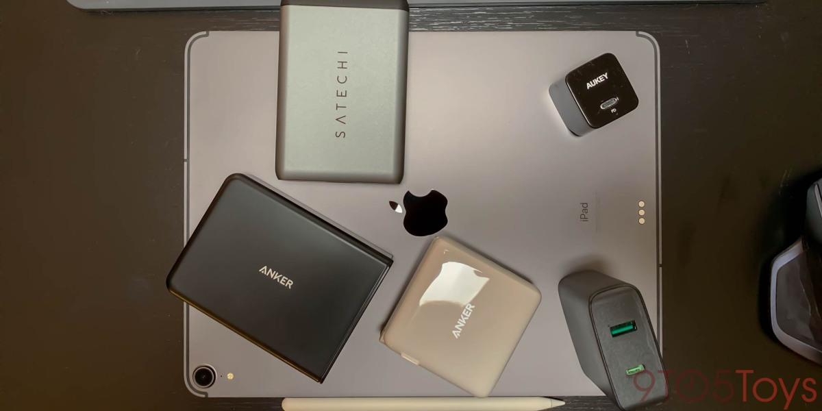 top 5 USB-C fast chargers for iPad Pro