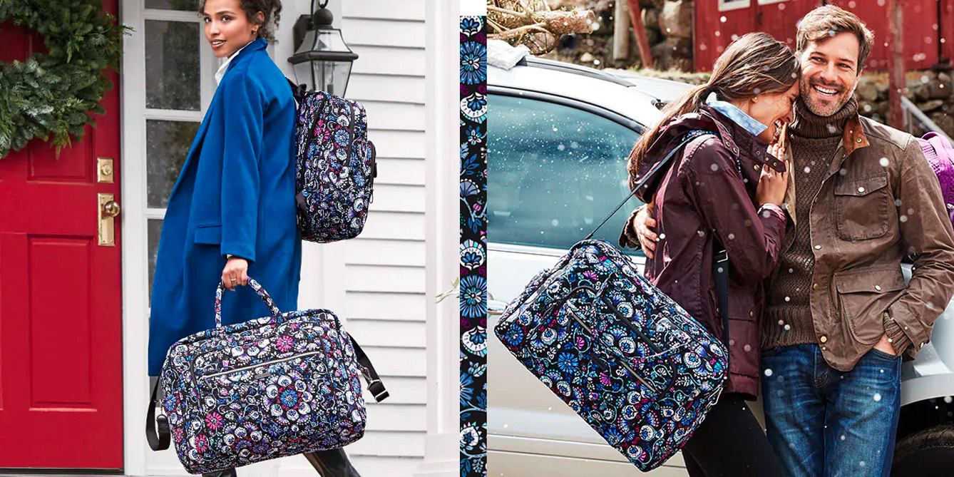 Vera Bradley's Holiday Sale discounts MacBook backpacks, luggage, and more from $34