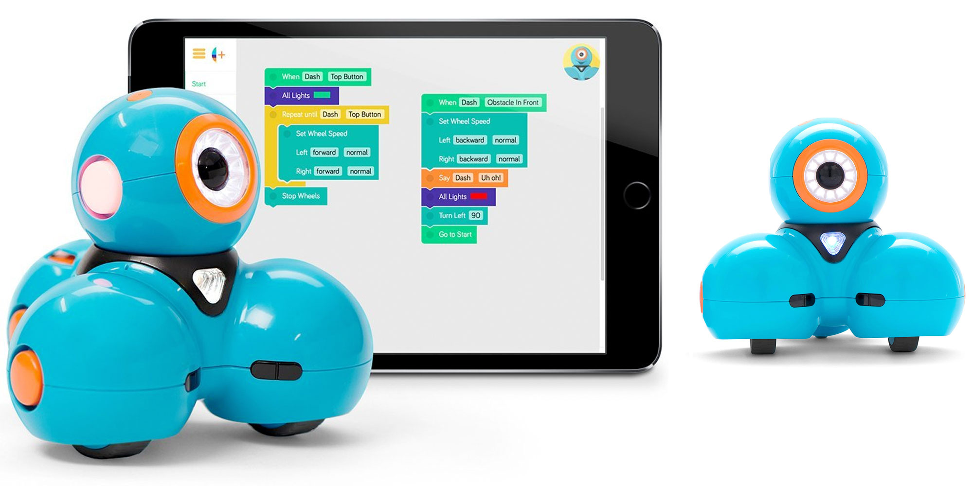 Teach your kids to code w/ the Wonder Workshop Dash Robot for $109 (Reg. $150)