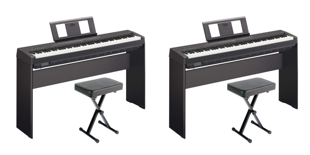 learn how to play on a proper yamaha 88 key weighted digital piano while it 39 s 100 off 9to5toys. Black Bedroom Furniture Sets. Home Design Ideas