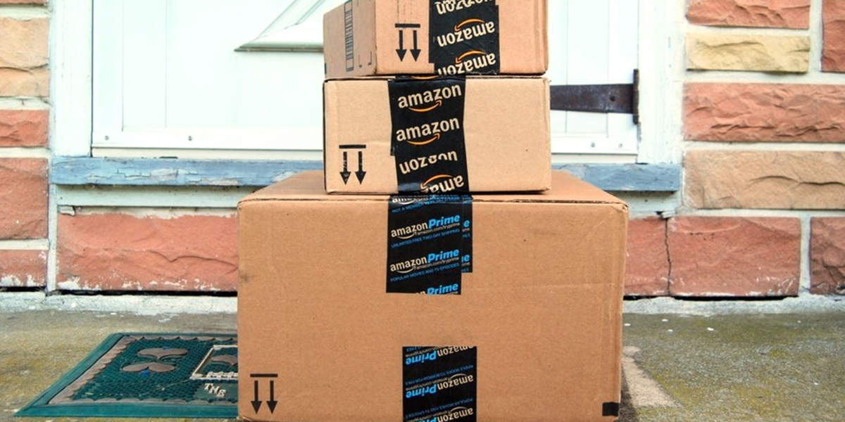 Amazon Boxes courtesy of Today Show