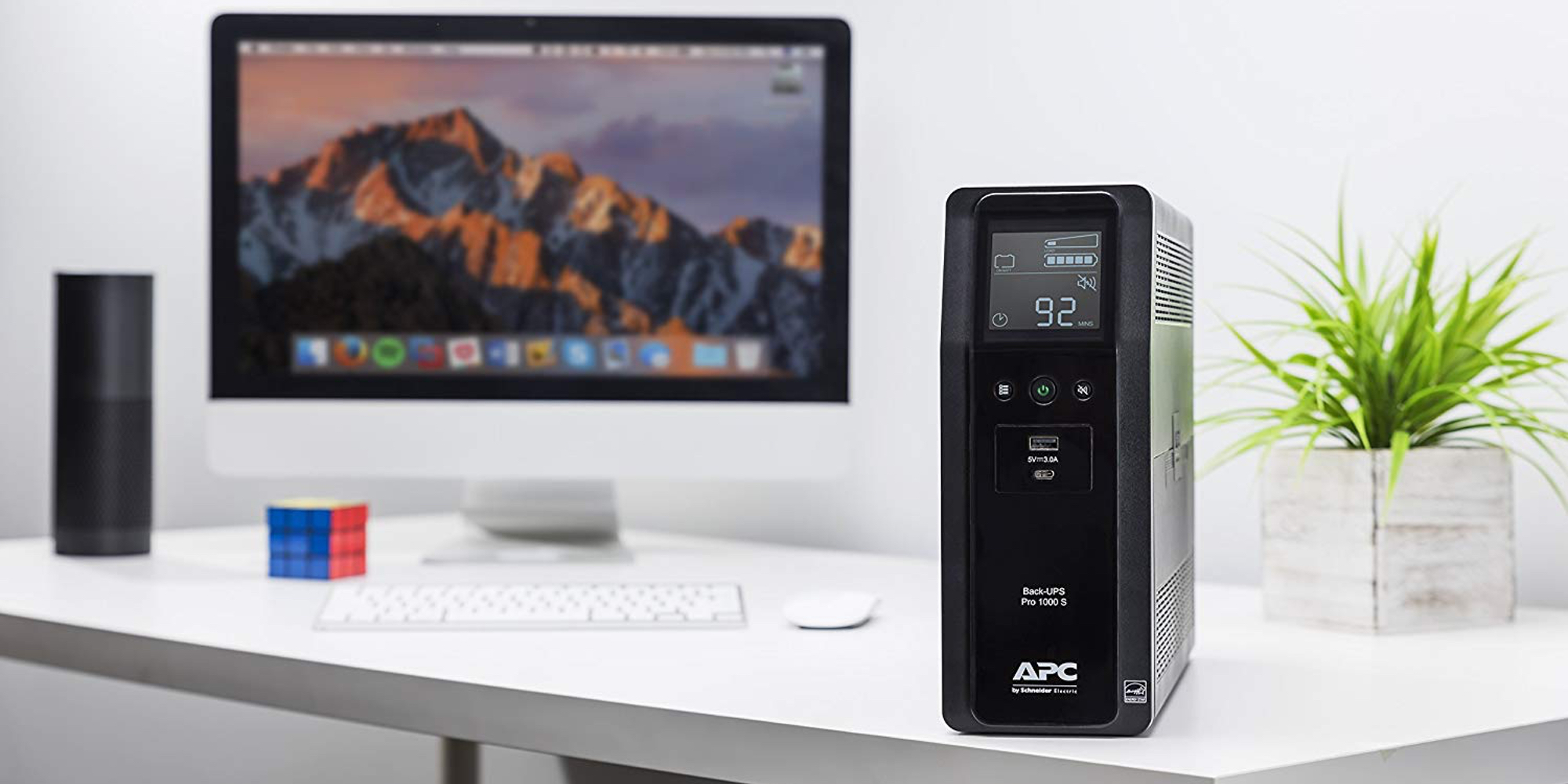 APC's 1000VA 10-Outlet UPS keeps your Wi-Fi running through power outages at $120 (20% off)