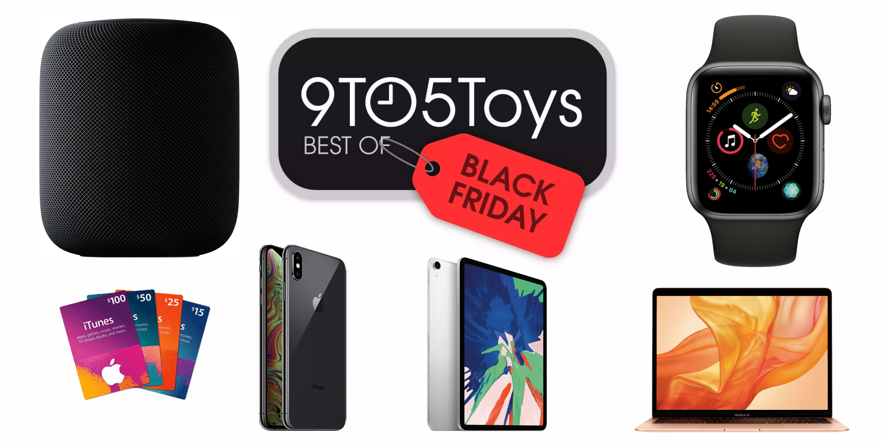 Best of Black Friday 2018 – Apple: HomePod $250, $400 gift card w/ iPhone, MacBooks, iPad, more