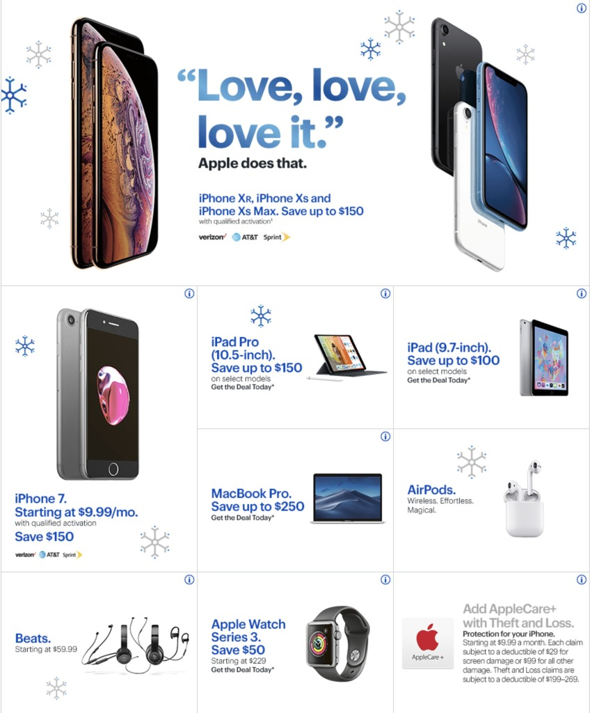 Best Buy Black Friday Ad Delivers Apple Deals Tvs More 9to5toys