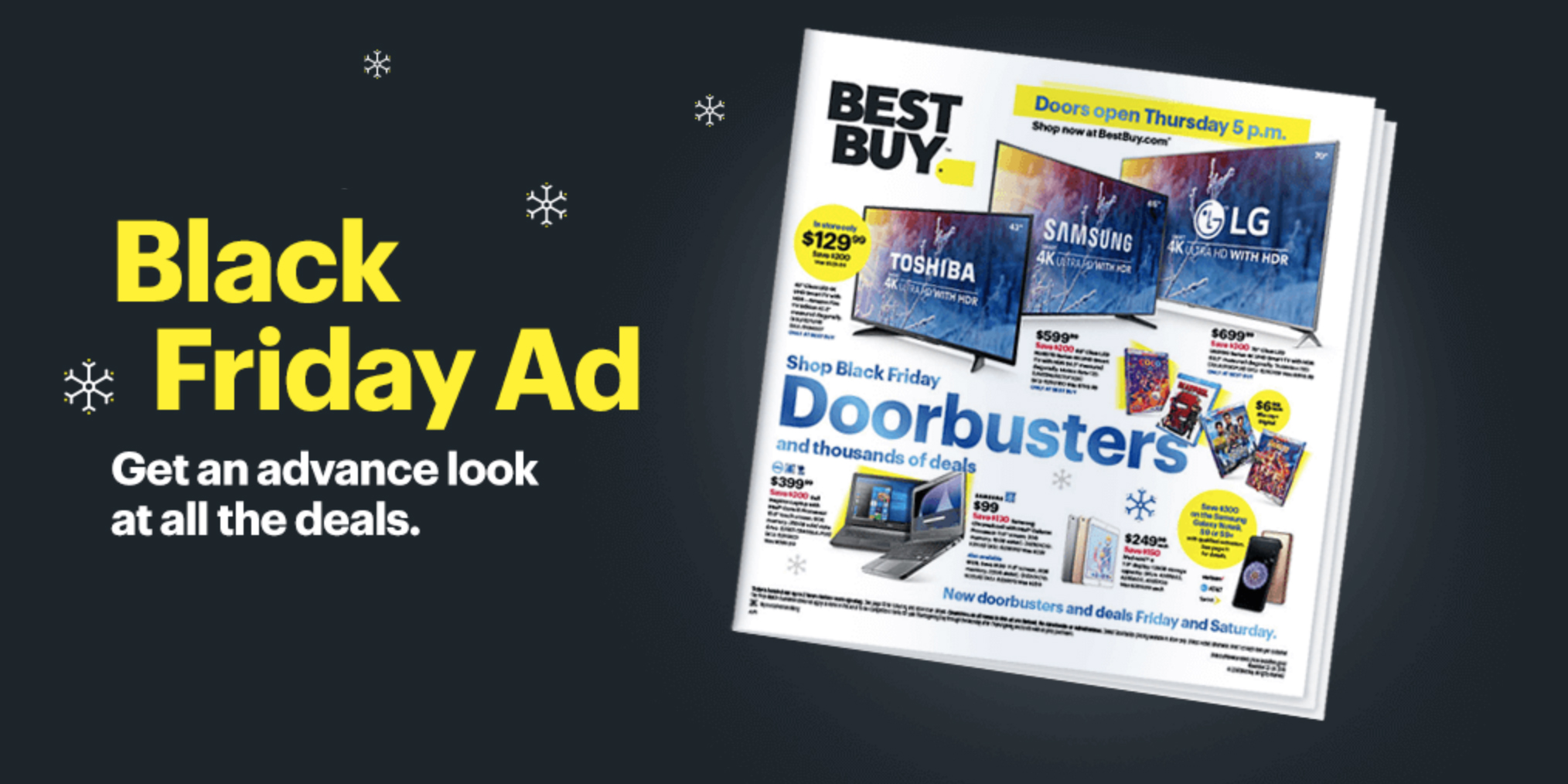 Best Buy Black Friday ad delivers this year's top Apple deals, gaming consoles, doorbusters, more