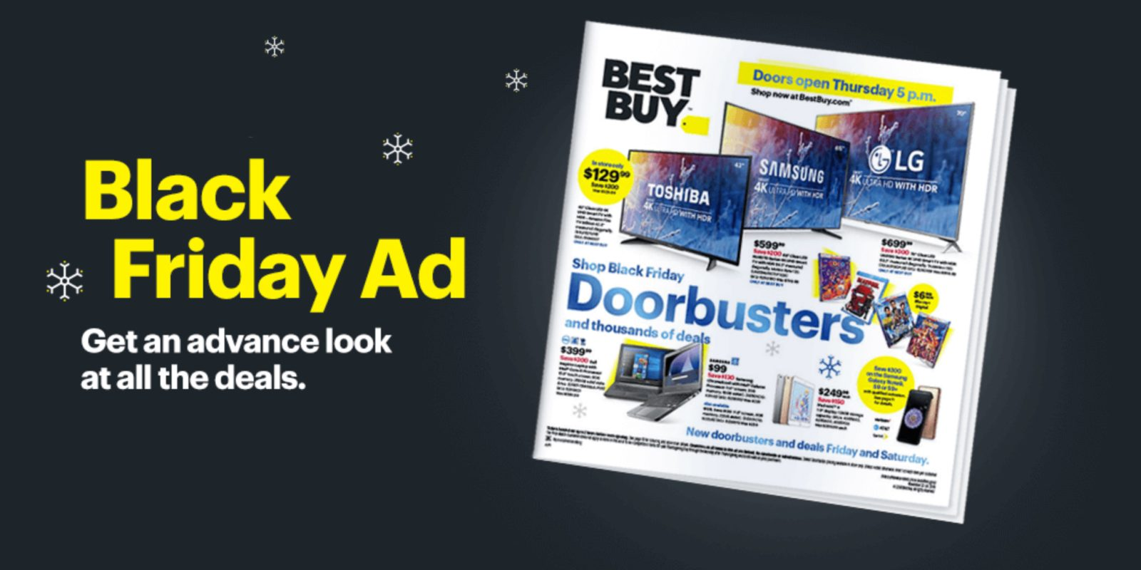 47d0b9cce870a Best Buy Black Friday ad delivers this year's top Apple deals, gaming  consoles, doorbusters, more