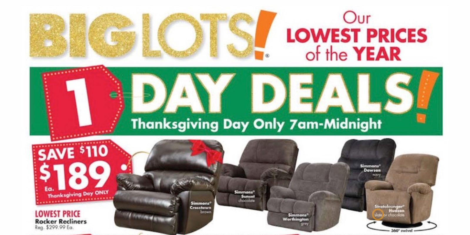 big lots black friday ad 1 day sale on thanksgiving doorbusters more - Big Lots After Christmas Sale