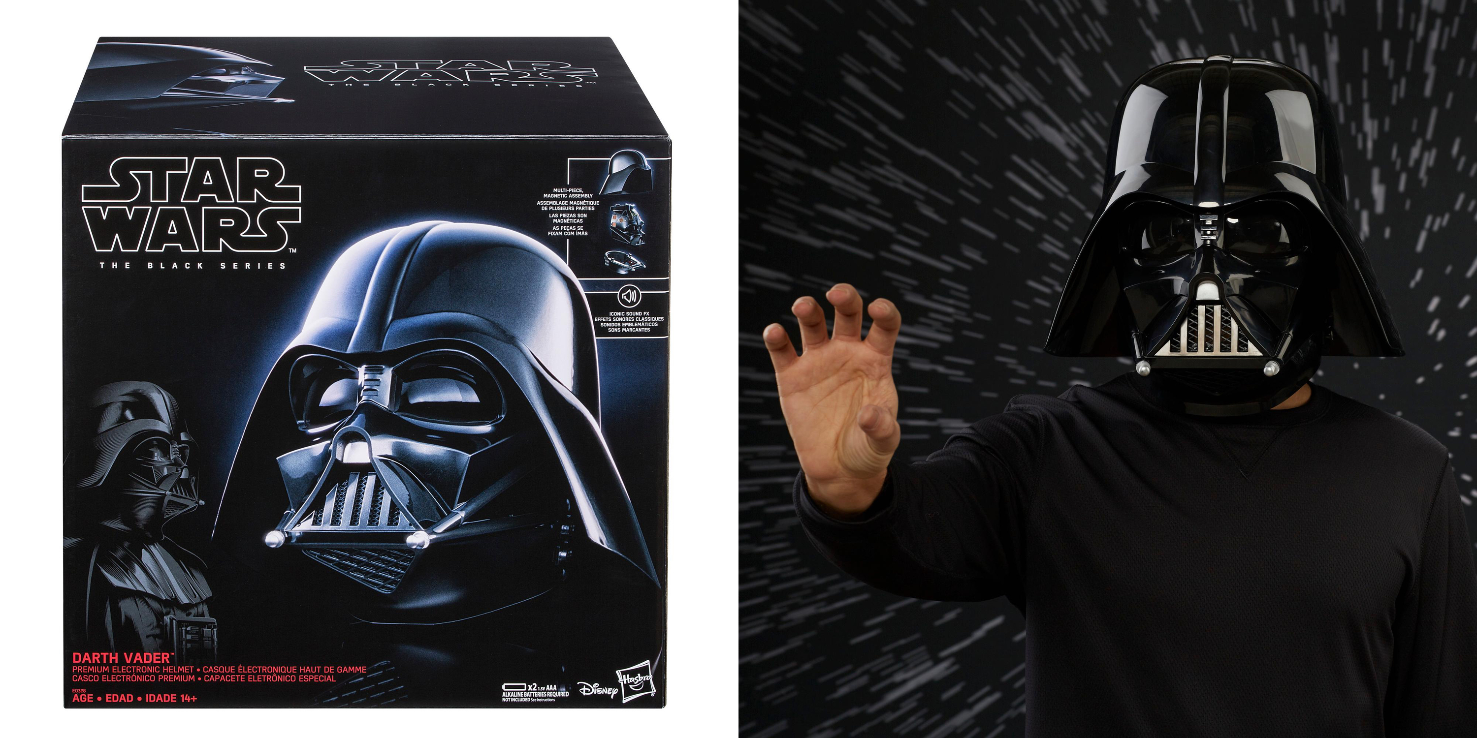 Every Star Wars fan needs this authentic Darth Vader Helmet, add it to your collection for $60