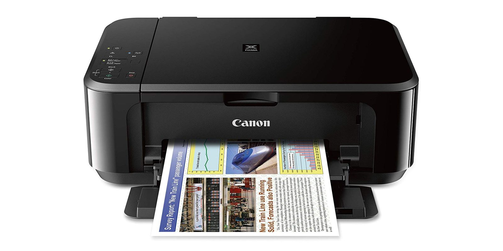 Canon's AirPrint-compatible PIXMA Wireless All-In-One Color Inkjet Printer is $25 (Reg. $45)