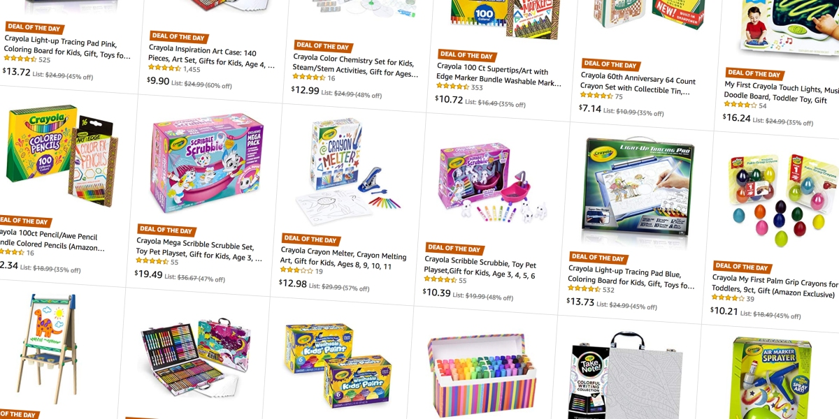 Amazon S Crayola Gold Box Has Deals From 6 50 On Supplies Art Kits More 9to5toys