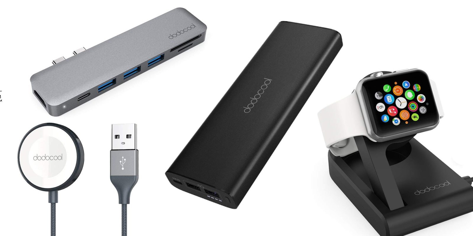 Kick off Cyber Monday with dodocool charging cables, USB-C hubs and more from $21 shipped