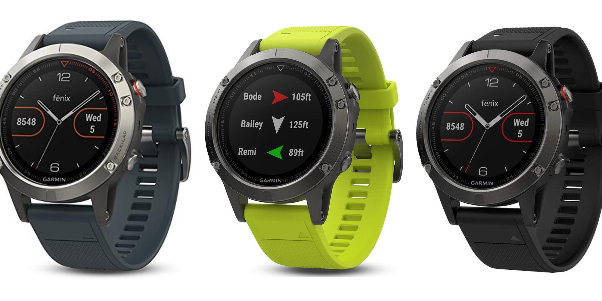 Garmin Fenix 5 GPS Smartwatch gets a $150 price cut to new Amazon low at $400 shipped