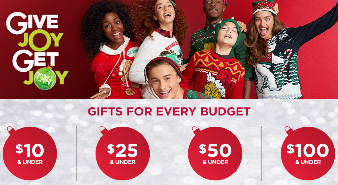 kohl's holiday gift guide