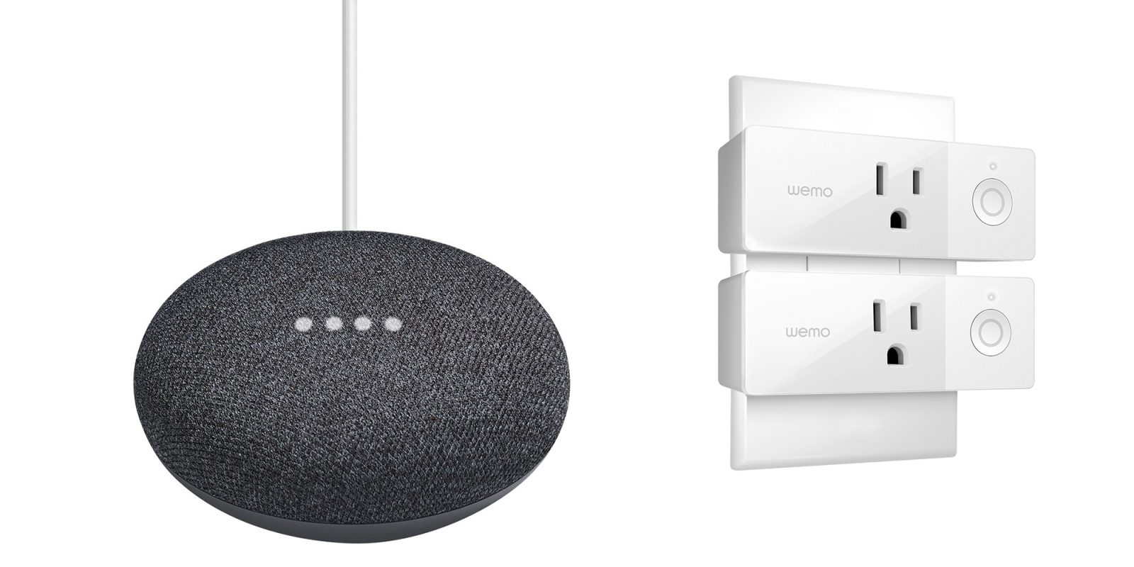 Target will sell you two Google Home minis with two Wemo Smart Plugs