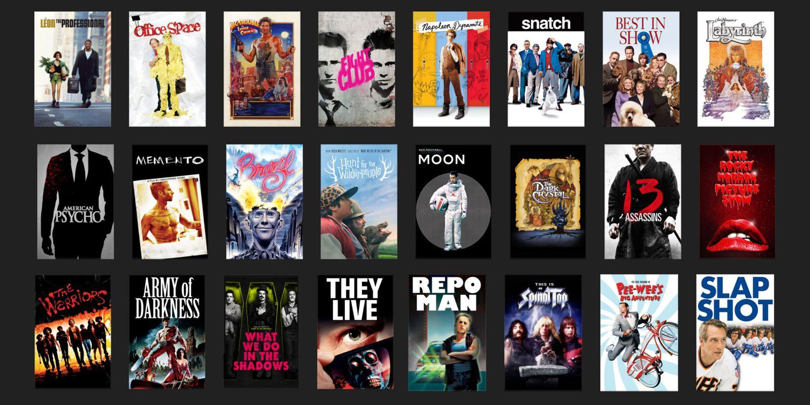 This week's best iTunes movie deals include Cult Classics from $8