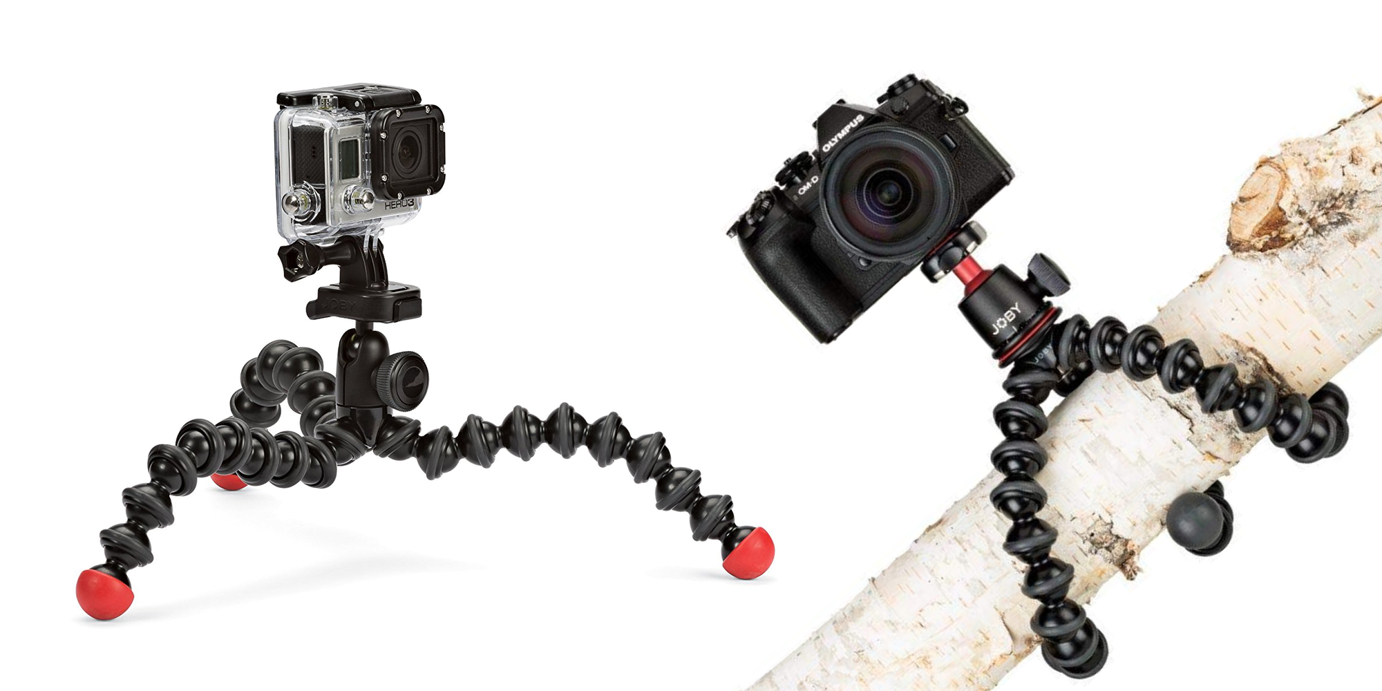 Pair your GoPro or DSLR with Joby's GorillaPod Tripods from $16 shipped at Amazon