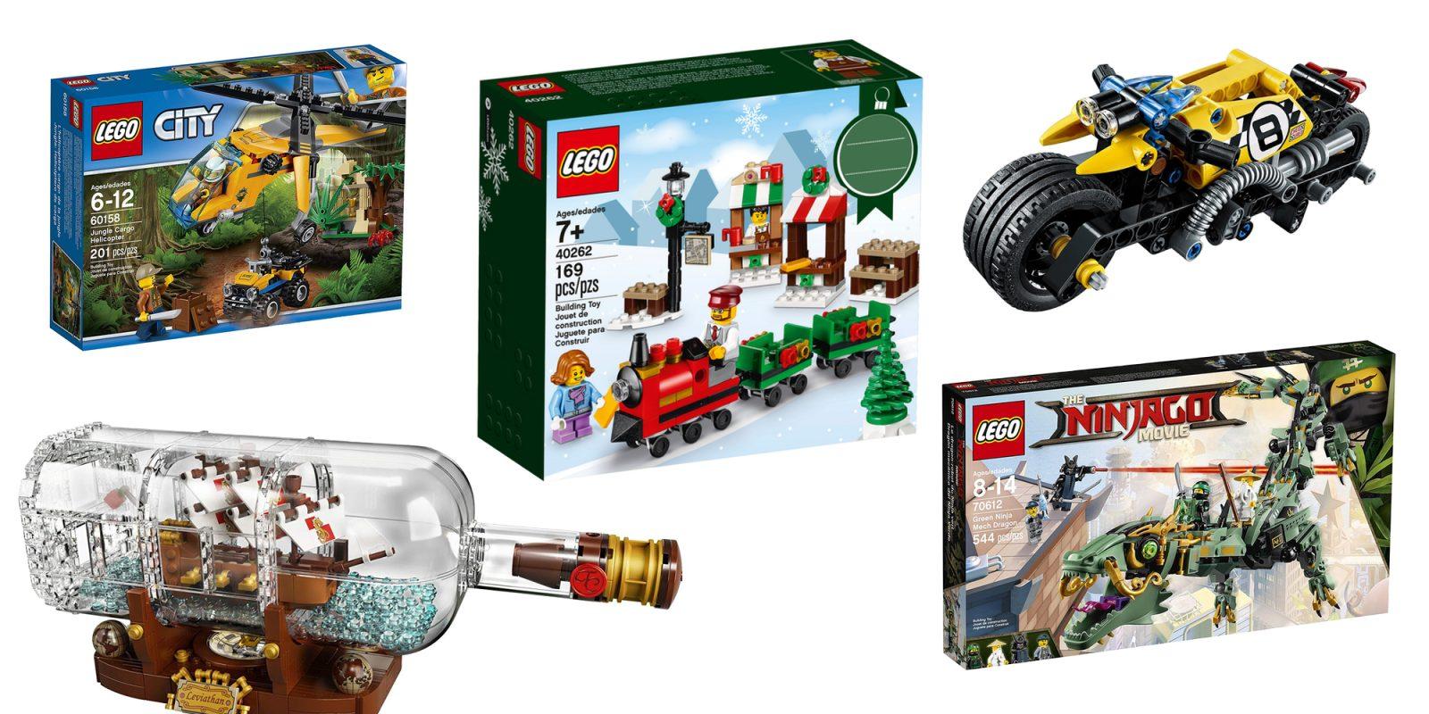 Lego Christmas Train.Get In The Holiday Spirit W Lego S Christmas Train Ride Set