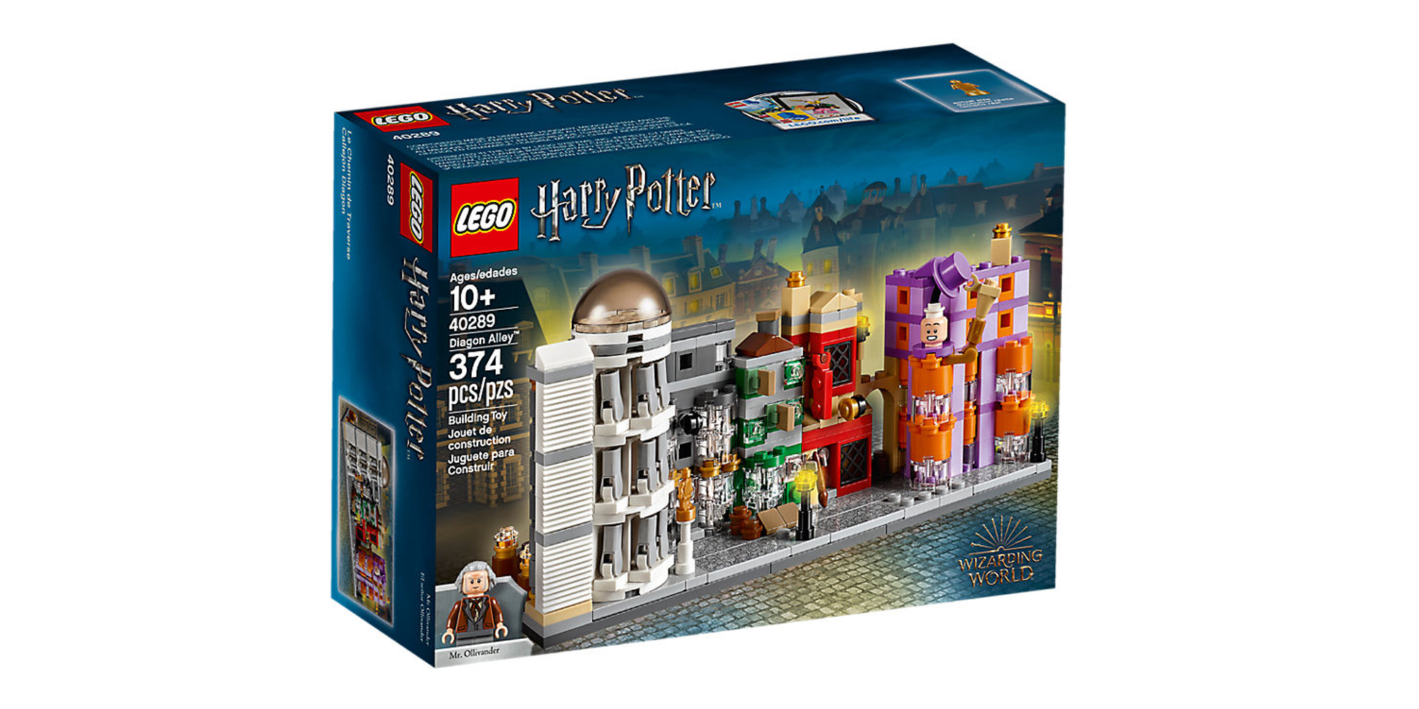LEGO Diagon Alley Box Front