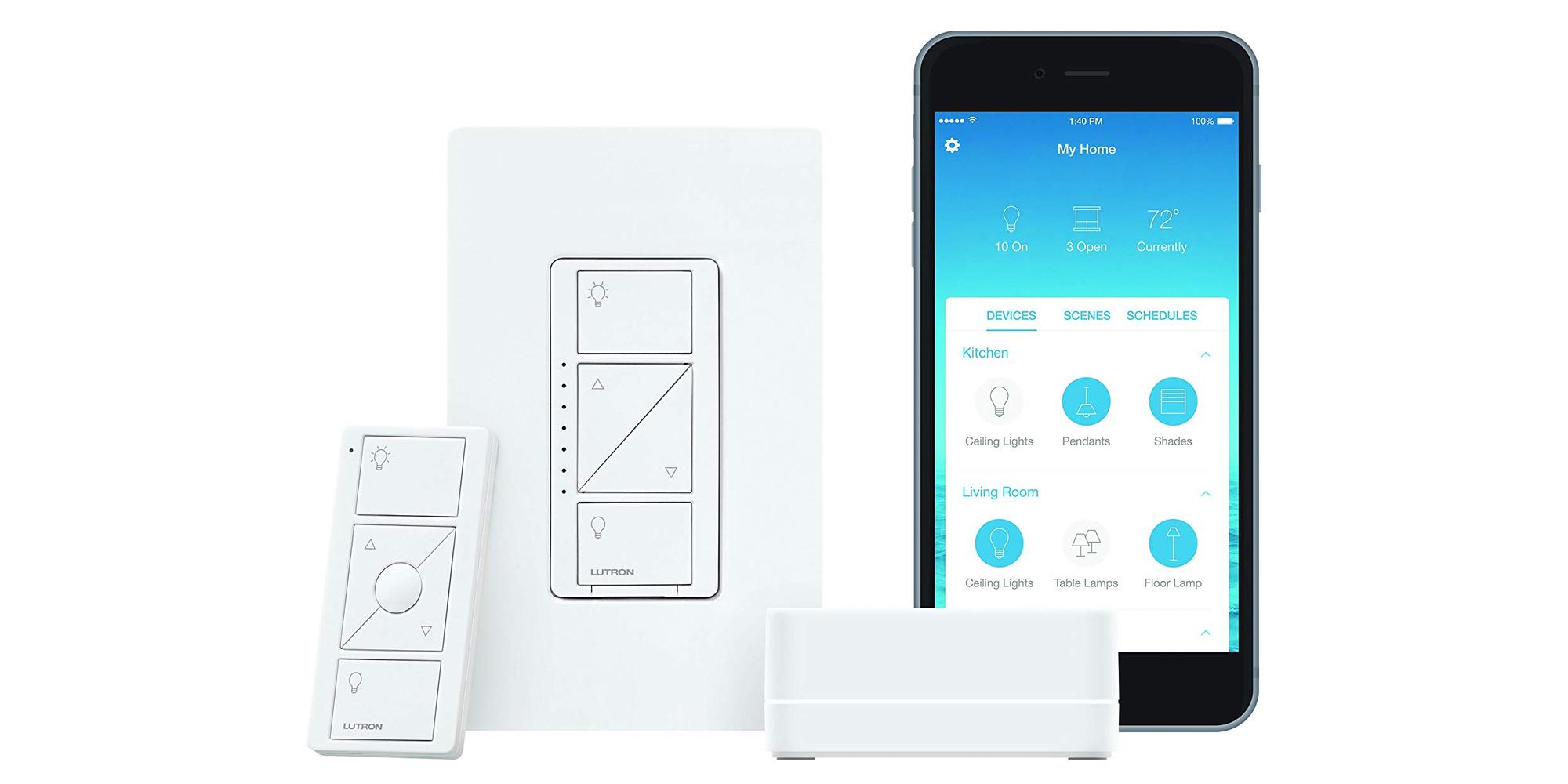 HomeKit compatibility highlights Lutron's Caseta Smart Dimmer Kit at $80 (Reg. $100)
