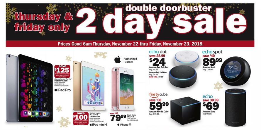 4a2836b893c Meijer Black Friday ad  up to  125 off iPad Pro   Apple Watch