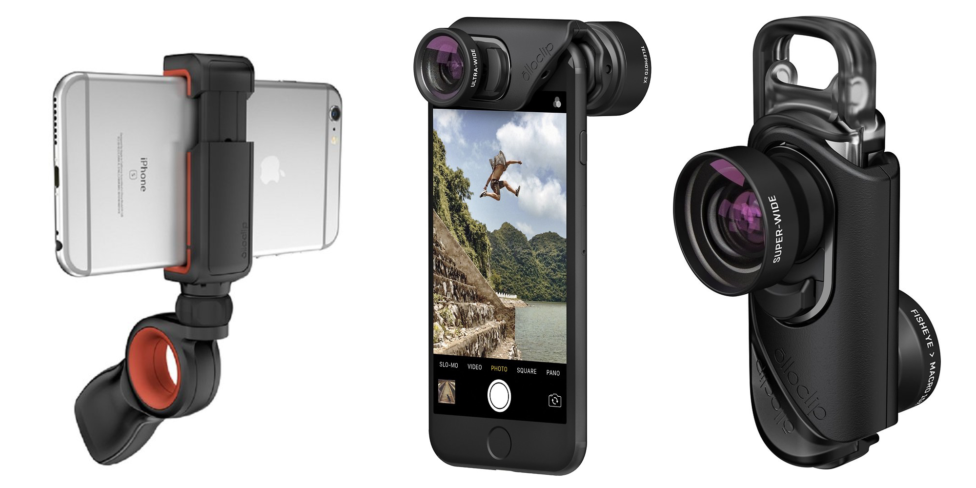 Take your iPhoneography next level w/ discounted olloclip lens kit and accessories from $15
