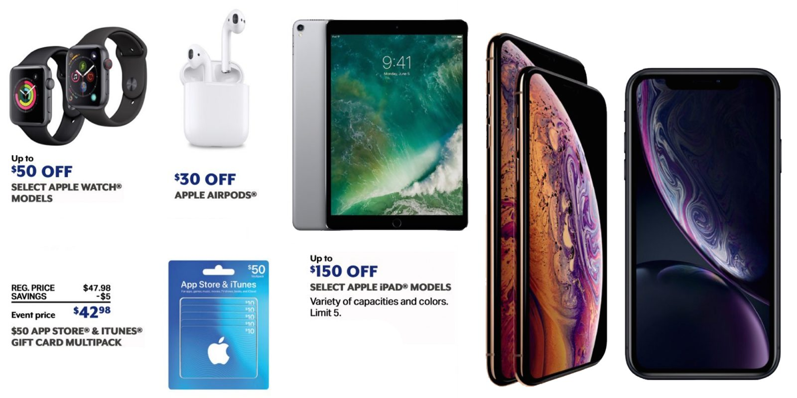 Sam's Club annual 1-day sale delivers deals on AirPods, iPad Pro
