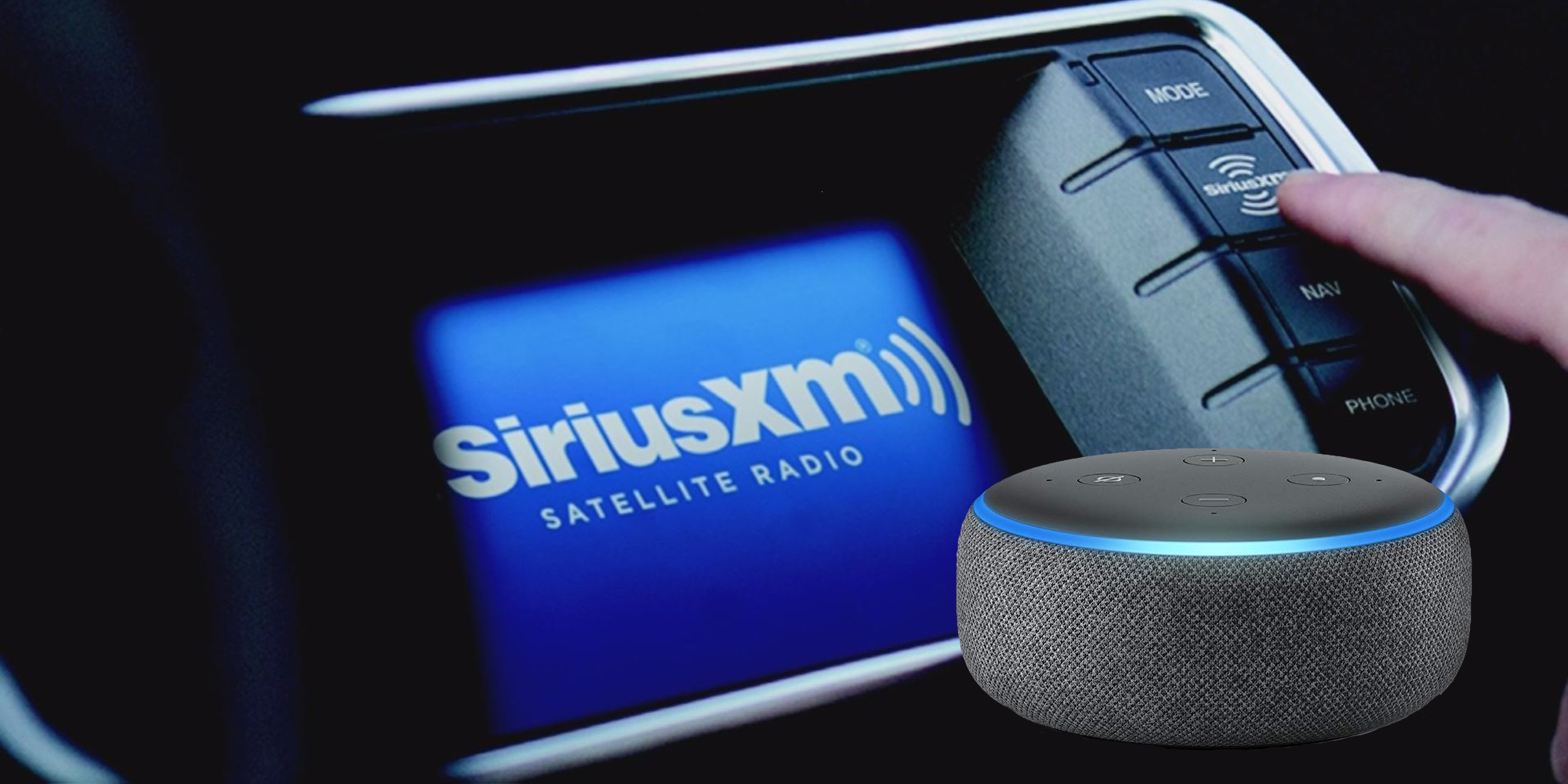 score a six month siriusxm subscription and an amazon echo. Black Bedroom Furniture Sets. Home Design Ideas
