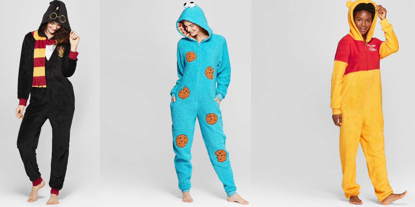 These women's onesie pajamas are comfy, cute, and on sale for $21 at Target (25% off)