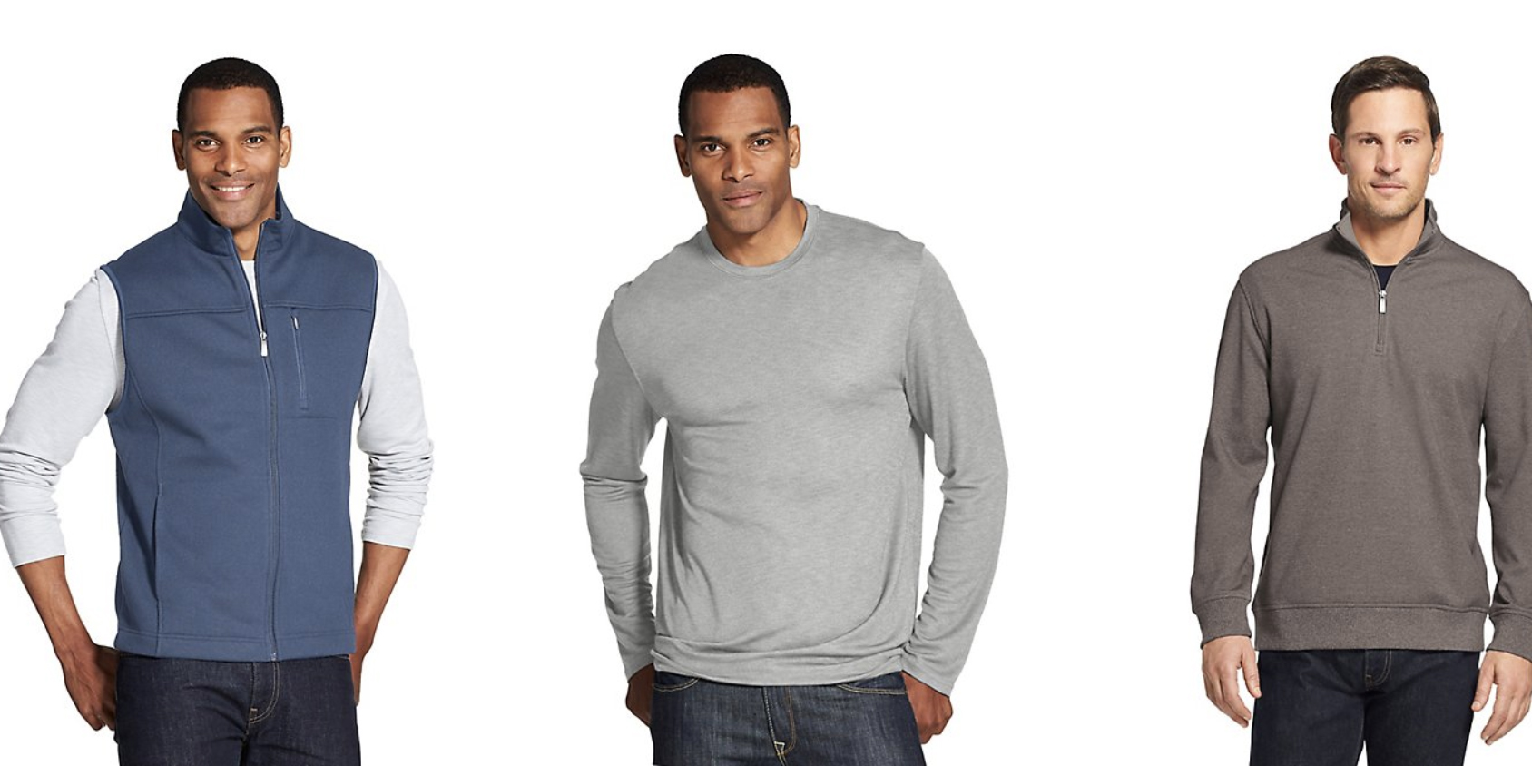 Upgrade your style in Van Heusen's 1-day Gold Box at Amazon from $5