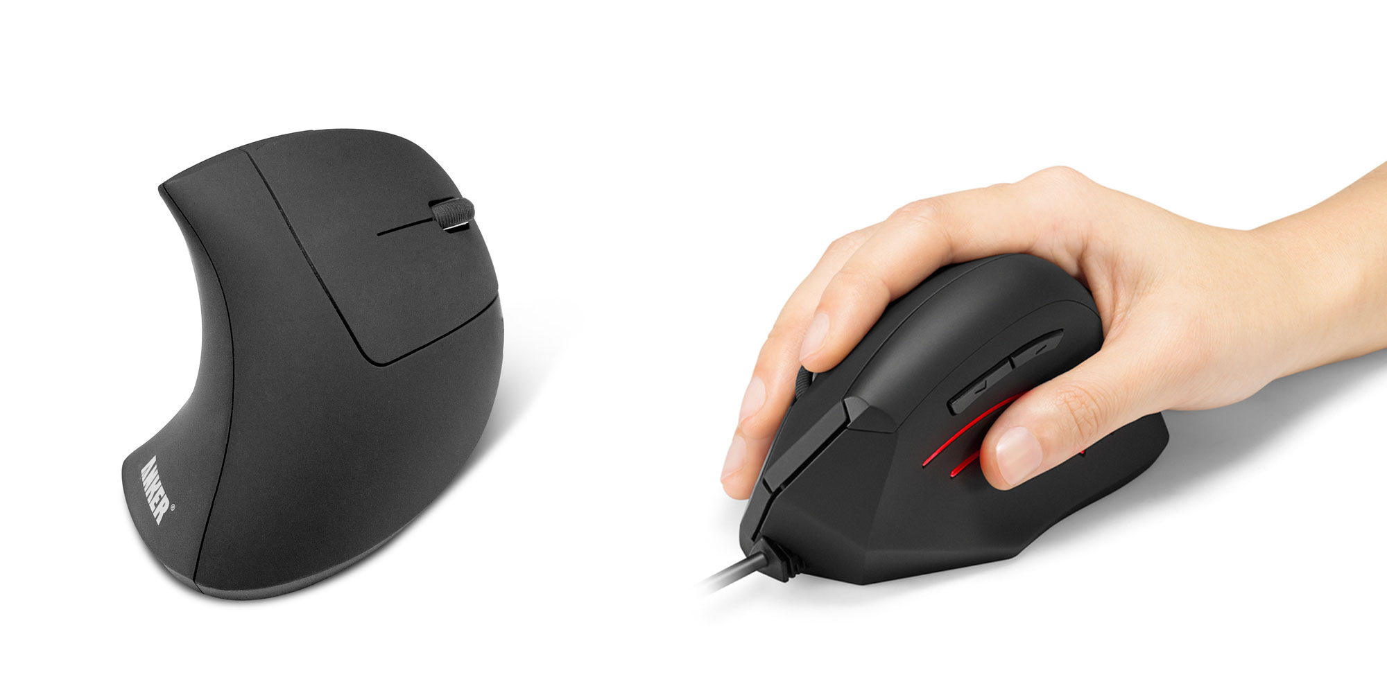 Anker's ergonomic vertical mouse drops to $10.50 shipped (30% off), more from $13
