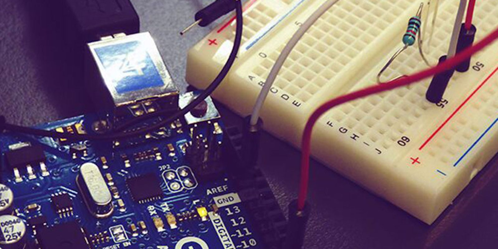 Get this Arduino Starter Kit and 16 hours of instruction for