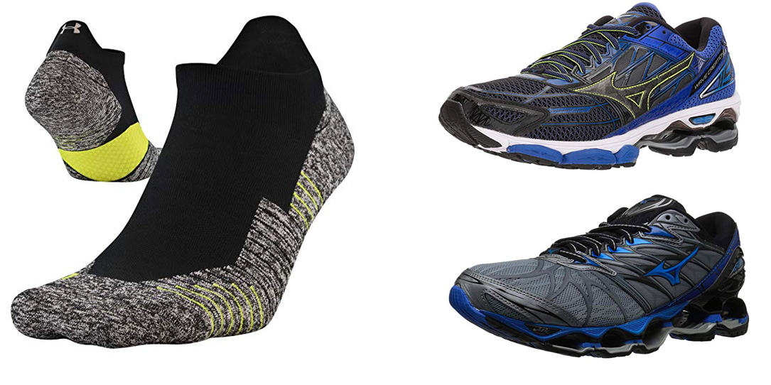 Get running with apparel, shoes & accessories from $9 shipped: Under Armour, Mizuno, more