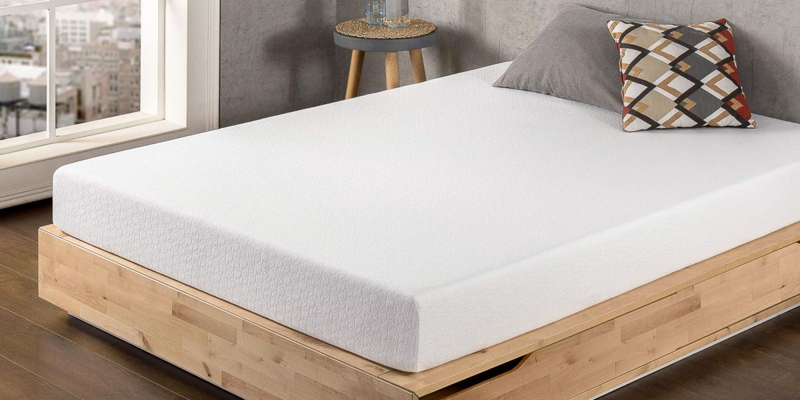 enjoy a better night 39 s sleep w best price mattress 4 or 8 inch memory foam from 68 shipped. Black Bedroom Furniture Sets. Home Design Ideas