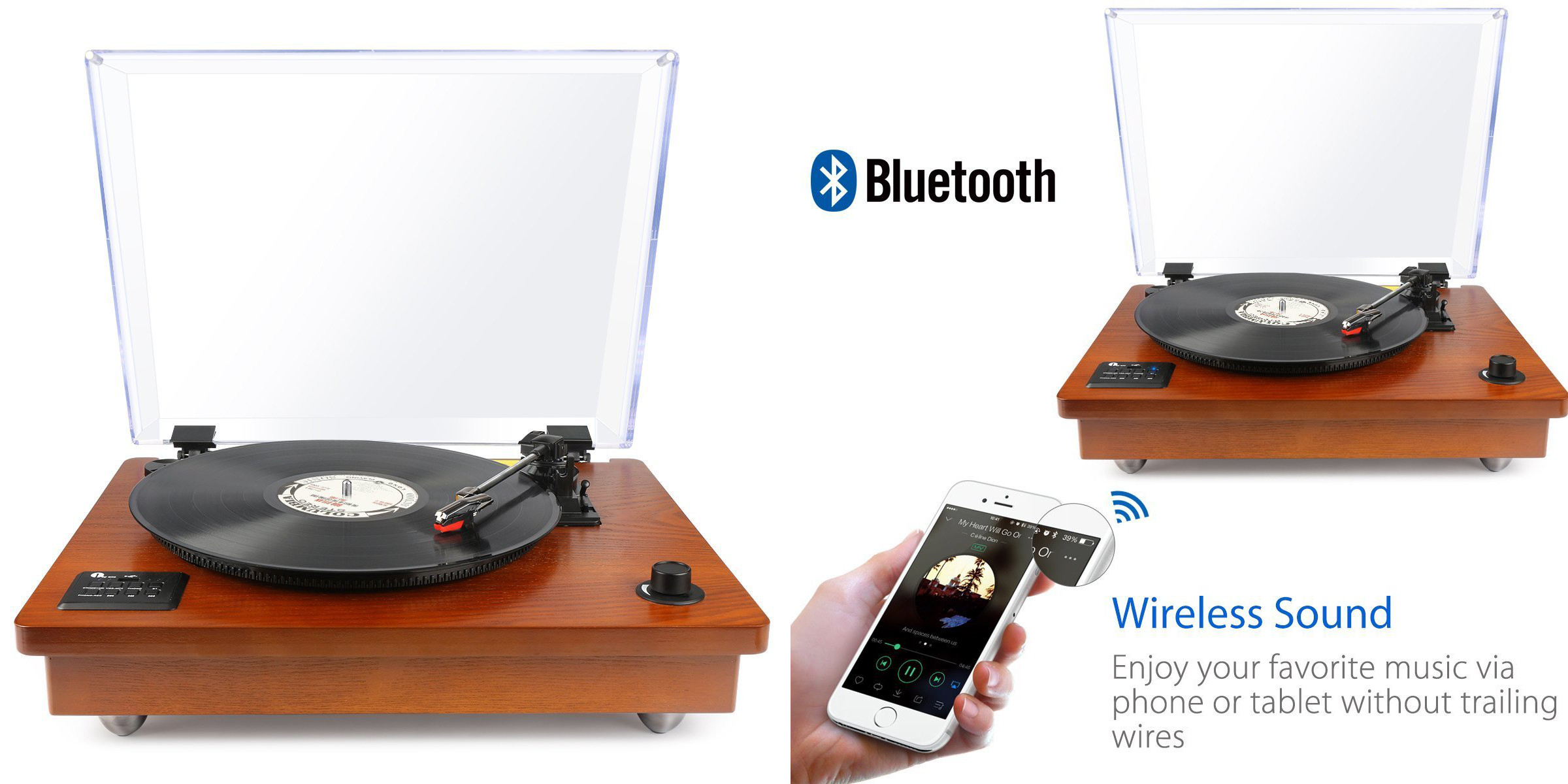 Amazon offers turntables at up to 40% off today: USB from $28 or Bluetooth $91, more