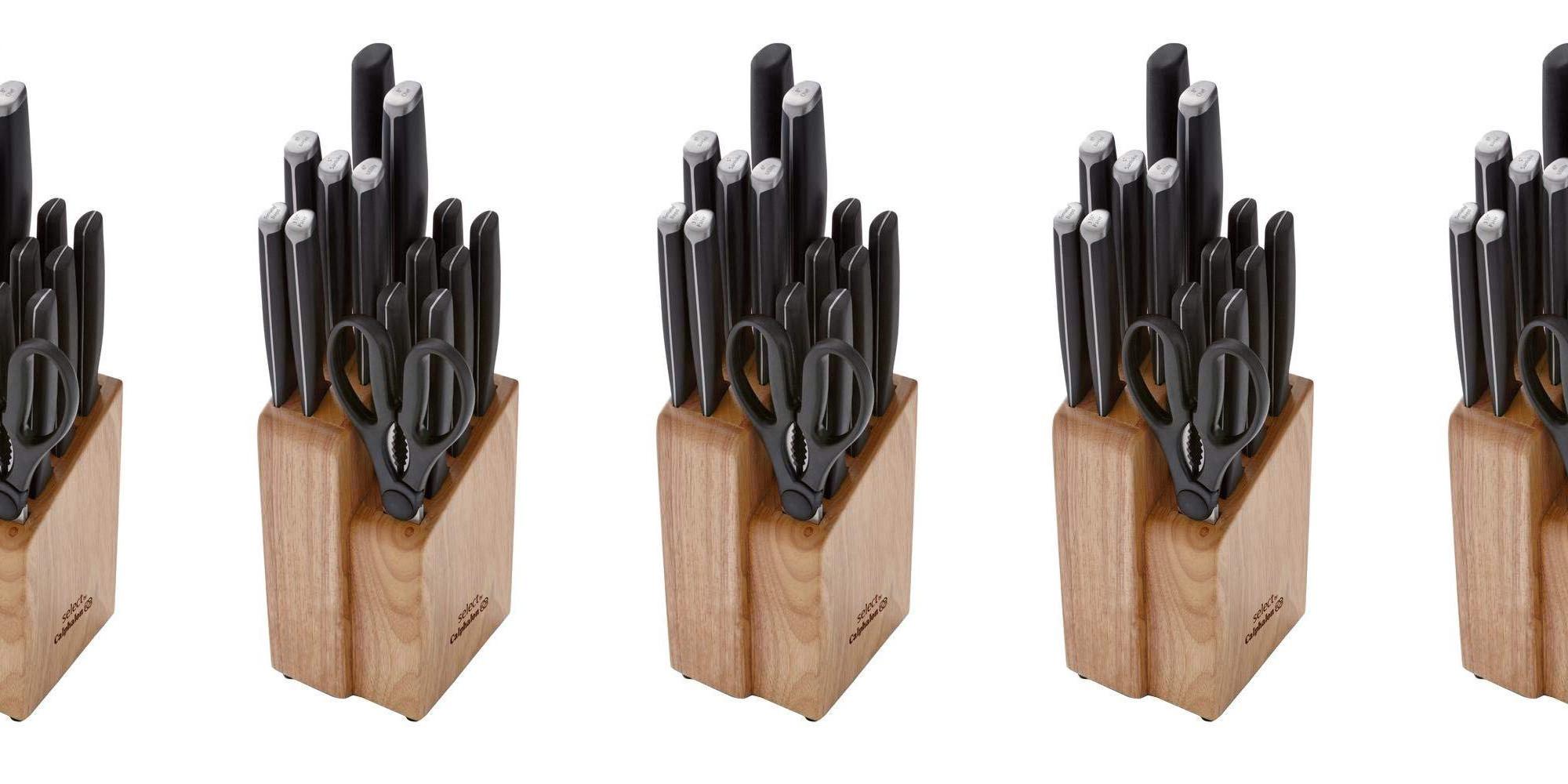Calphalon Select 15 Piece Knife Block Set W 10 Yr