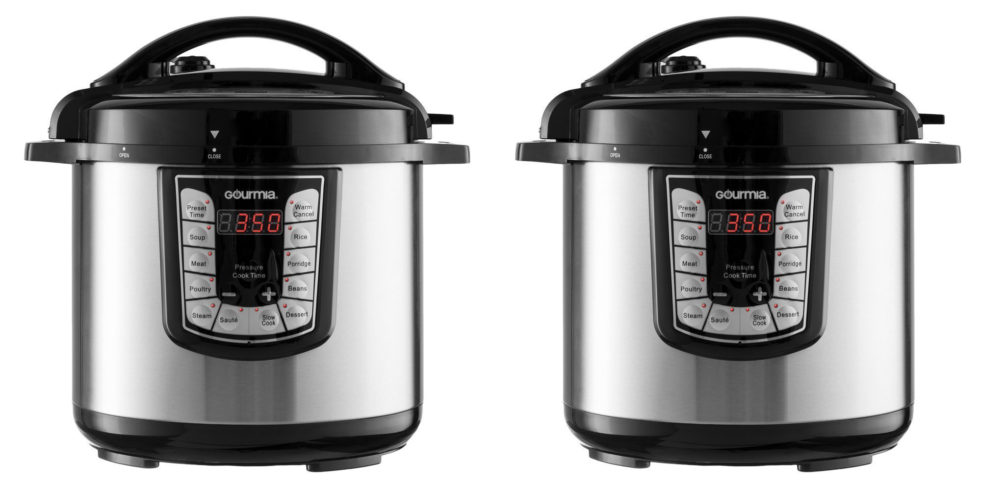No need to spend a fortune on an 8-quart multi cooker, this Gourmia is only $50 (Reg. $75+)